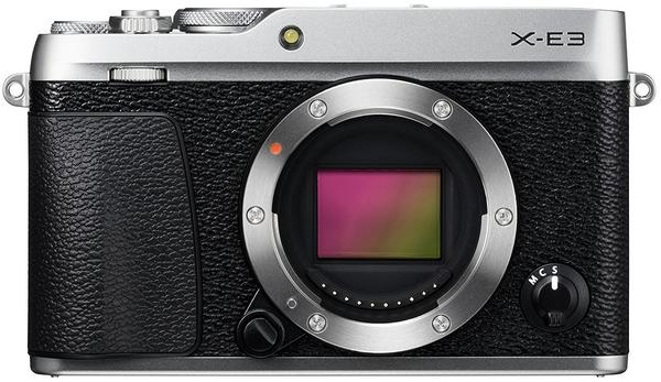 Fujifilm X-E3 Body silber