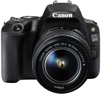 Canon EOS 200D Kit 18-55 mm + 75-300 mm