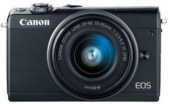 Canon EOS M100 schwarz + EF-M 15-45mm IS STM + EF-M 22mm
