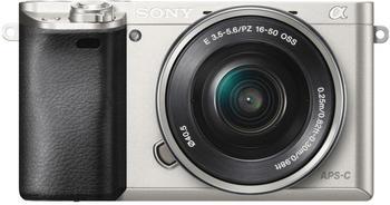 Sony Alpha 6300 Kit 16-50 mm silber
