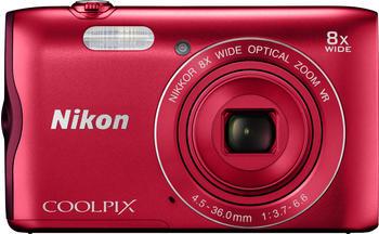 Nikon Coolpix A300 rot
