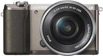 Sony Alpha 5100 Kit 16-50 mm braun