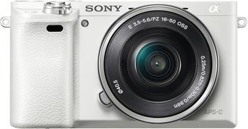 Sony Alpha 6000 Kit 16-50 mm weiß