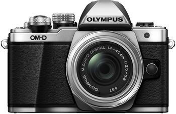 Olympus OM-D E-M10 Mark II Kit 14-42 mm II R silber