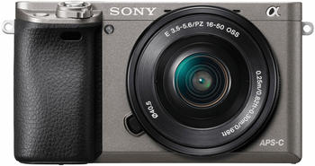 Sony Alpha 6000 Kit 16-50 mm + 16GB SD + Kameratasche graphit