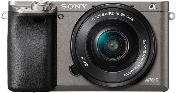 Sony Alpha 6000 Kit 16-50 mm + 16GB SD + Kameratasche graphit