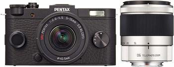 Pentax Q-S1 schwarz + 5-15mm + 15-45mm