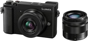 Panasonic Lumix DC-GX9 Kit 12-32 mm + 35-100 mm schwarz