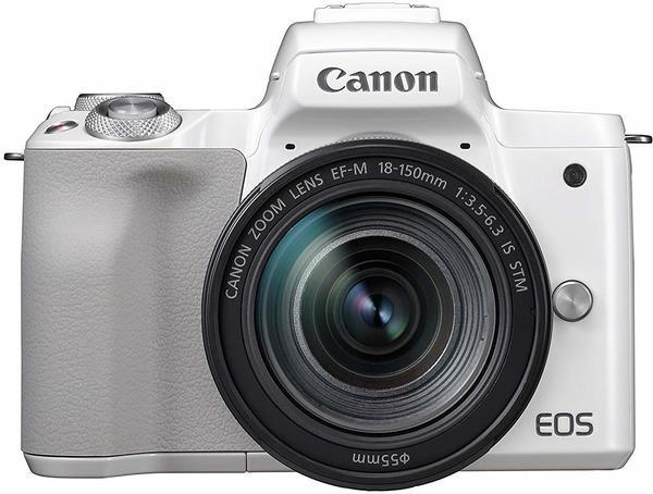 Canon EOS M50 Kit 18-150 mm weiß