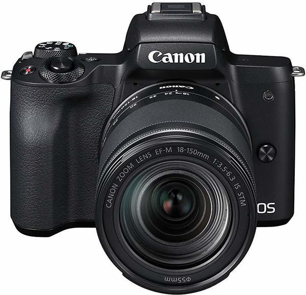 Canon EOS M50 Kit 18-150 mm schwarz