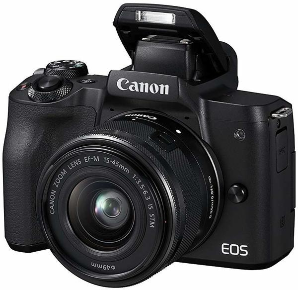 Canon EOS M50 Kit 15-45 mm schwarz