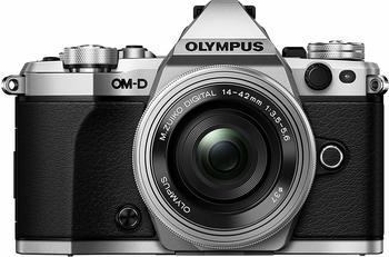 Olympus OM-D E-M5 Mark ll Kit 14-42 mm EZ silber