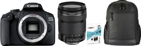 Canon EOS 2000D Kit 18-135 mm IS