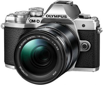 Olympus OM-D E-M10 Mark III Kit 14-150 mm silber