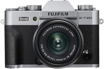 Fujifilm X-T20 + XC 15-45mm Fujifilm X silber
