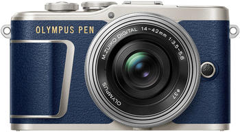 Olympus PEN E‑PL9 Kit 14-42 mm blau