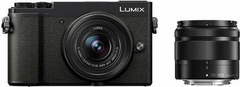 Panasonic dc-gx9wef-k Kamera DSLM schwarz/silber
