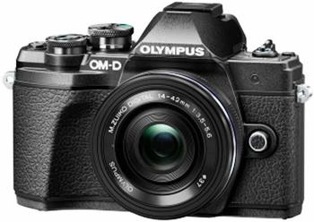 Olympus OM-D E-M10 Mark III Kit 14-42 mm II R schwarz