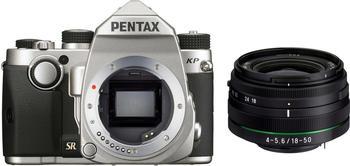 Pentax KP Kit 18-50 mm silber