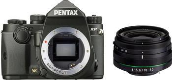 Pentax KP Kit 18-50 mm schwarz