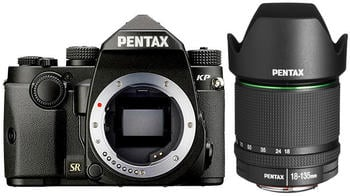 Pentax KP Kit 18-135 mm schwarz