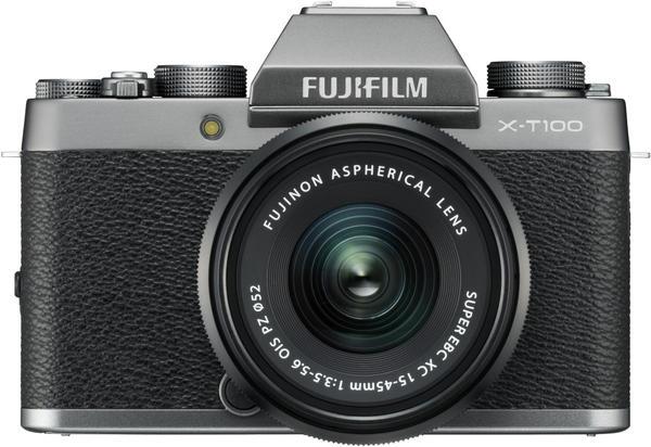 Fujifilm X-T100 Kit 15-45 mm silber