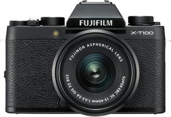 Fujifilm X-T100 gold + XC 15-45mm OIS PZ schwarz