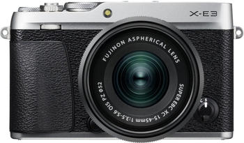 Fujifilm X-E3 silber + XC 15-45mm
