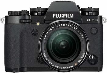 Fujifilm X-T3 Kit 18-55 mm schwarz