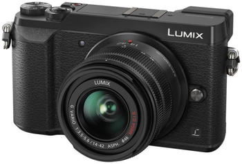 Panasonic Lumix DMC-GX80 Kit 14-42 mm + 25 mm schwarz
