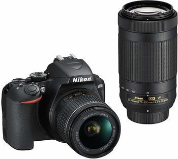 Nikon D3500 Kit 18-55 mm VR + 70-300 mm VR