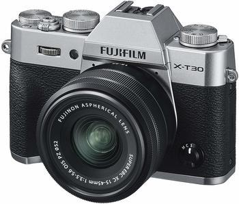 Fujifilm X-T30 Kit 15-45 mm silber