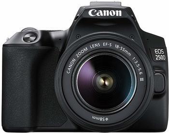 Canon EOS 250D inkl. EF-S 18-55mm f/4-5,6 IS STM Objektiv schwarz