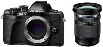 Olympus OM-D E-M10 Mark III Kit 12-200 mm schwarz