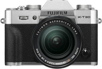 Fujifilm X-T30 Kit 18-55 mm silber