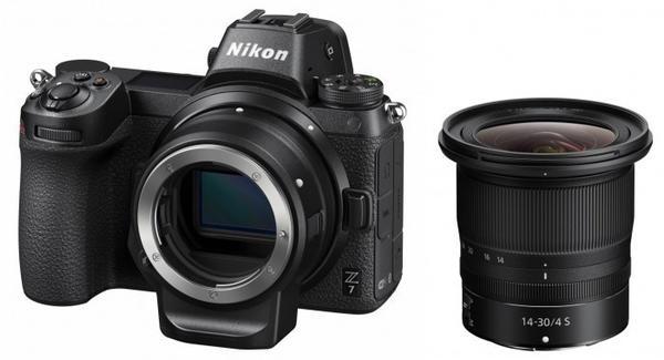 Nikon Z7 Kit 14-30 mm + FTZ Objektivadapter