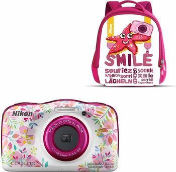 Nikon Coolpix W150 Rucksack Kit Blumen