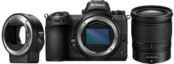 Nikon Z6 Kit 24-70 mm f4.0 + FTZ Objektivadapter + 64GB XQD