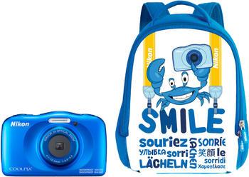 Nikon Coolpix W150 Rucksack Kit blau
