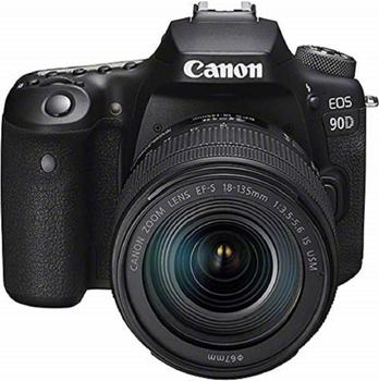 Canon EOS 90D Kit 18-135 mm IS USM