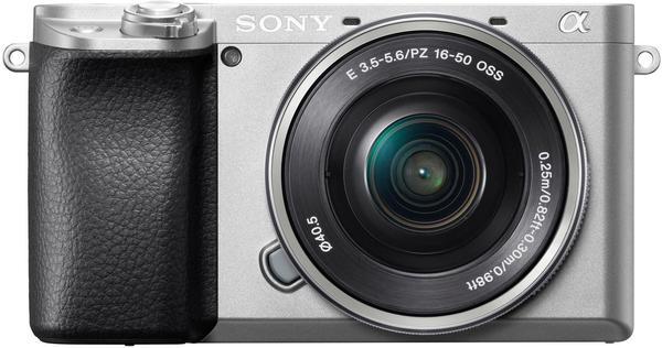 Sony Alpha 6100 Kit 16-50mm silber