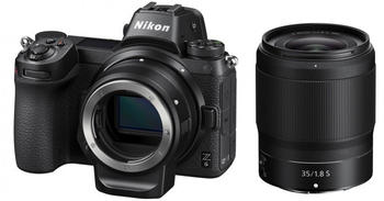 Nikon Z6 Kit 35mm + FTZ Objektivadapter