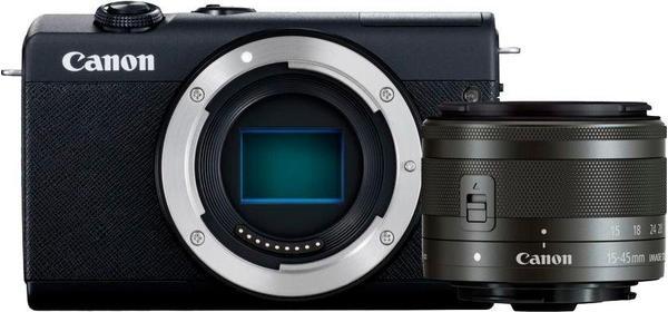 Canon EOS M200 Kit 15-45 mm schwarz