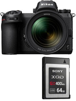 Nikon Z7 Kit 24-70 mm f4.0 + XQD 64 GB