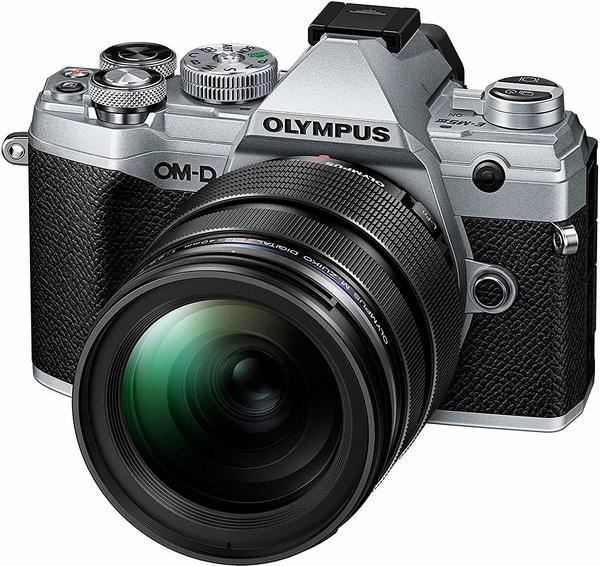 Olympus OM-D E-M5 Mark III Kit 12-40 mm silber