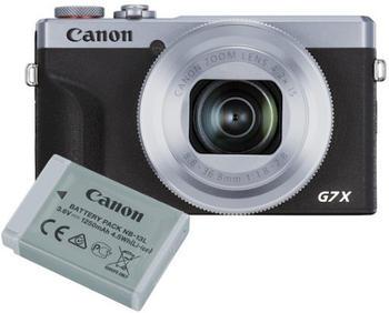 Canon PowerShot G7X Mark III Batterie Kit silber