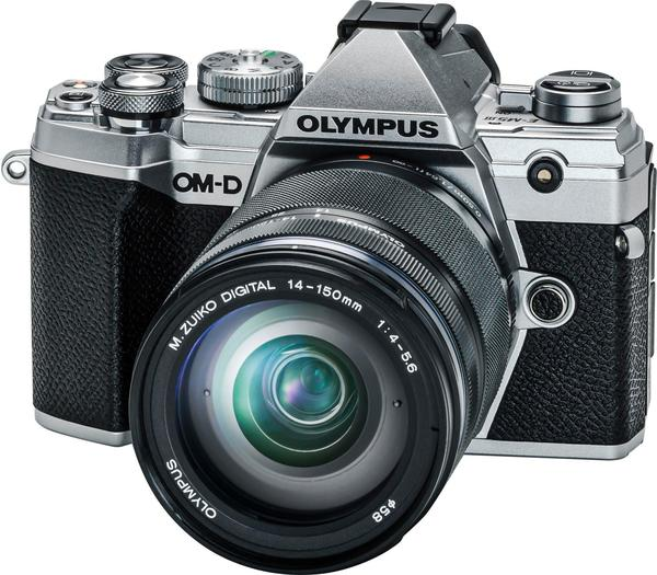 Olympus OM-D E-M5 Mark III Kit 14-150 mm silber