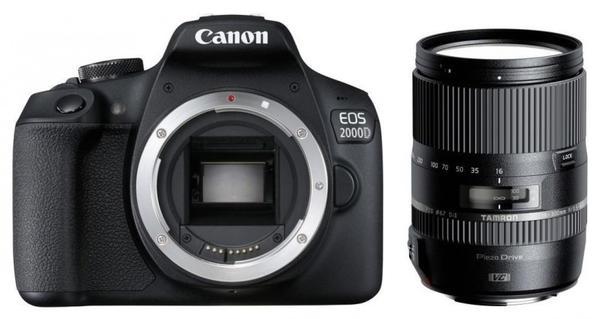 Canon EOS 2000D Kit 16-300 mm Tamron