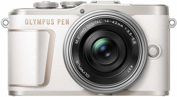 Olympus PEN E-PL10 Kit 14-42 mm EZ weiß