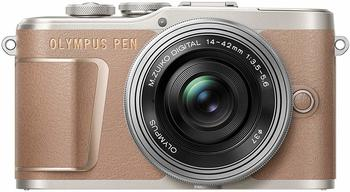 Olympus PEN E-PL10 Kit 14-42 mm EZ braun